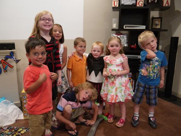 Nolan's 4th birthday party 048