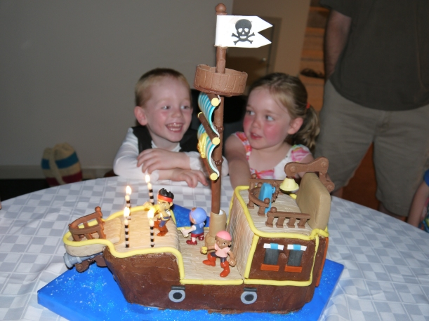 Nolan's 4th birthday party 054