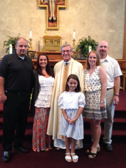 Avery Baptism